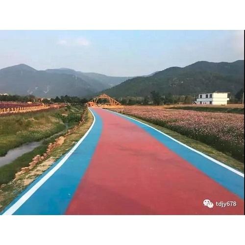 彩色路面水性环保路面