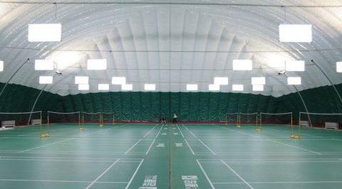 充气式气膜体育馆