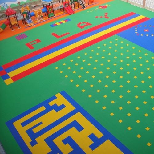 幼儿园、别墅庭院地面系列